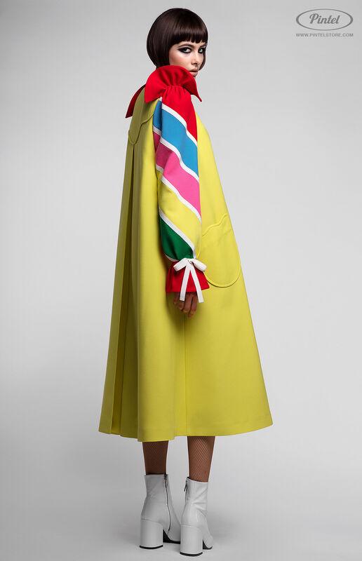 Платье женское Pintel™ Платье-пальто А-силуэта Tinka - фото 4