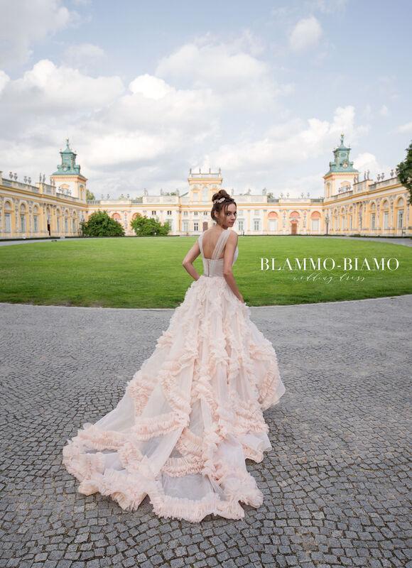 Свадебное платье напрокат Blammo-Biamo Платье свадебное The Rice  Noel - фото 2