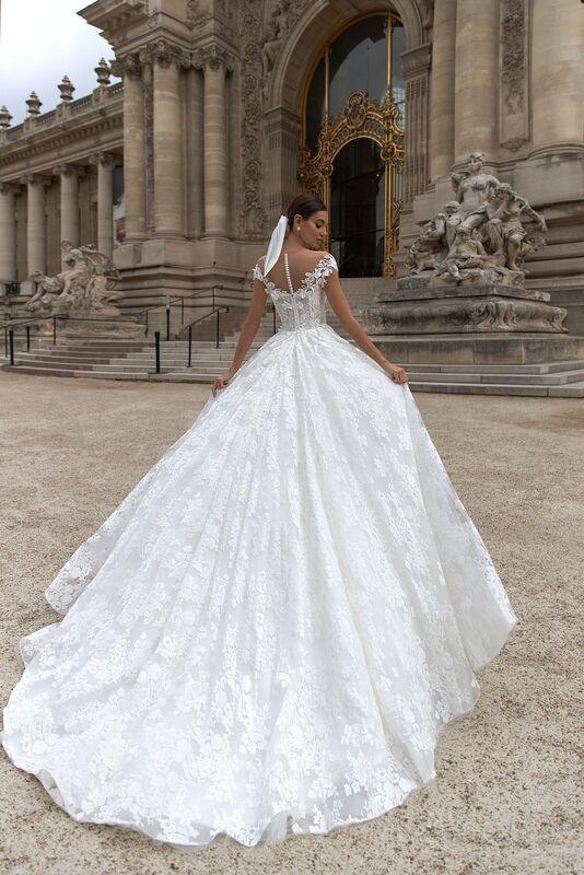 """Свадебный салон ALIZA свадебное платье """"Cindylye"""" - фото 3"""