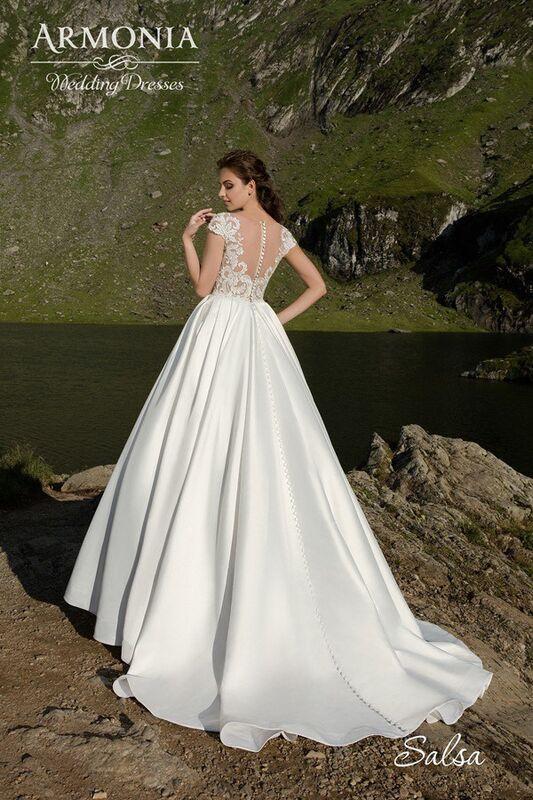 Свадебное платье напрокат Armonia Свадебное платье Salsa - фото 3