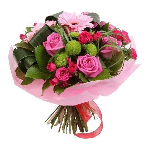 Магазин цветов Планета цветов Сборный букет №9 - фото 1