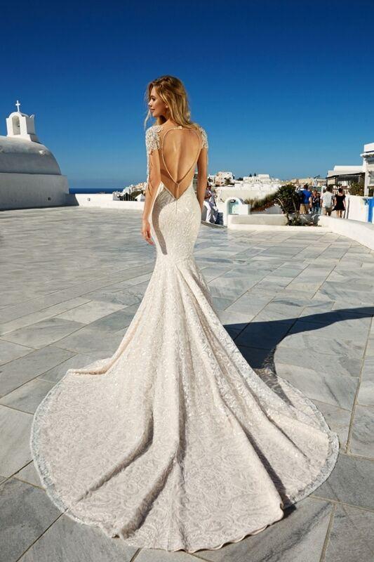 Свадебное платье напрокат Eva Lendel Платье свадебное Bler - фото 5