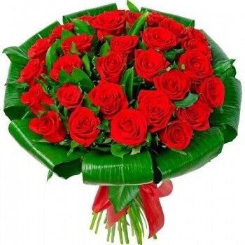 Магазин цветов Ветка сакуры Букет из 31 розы - фото 1