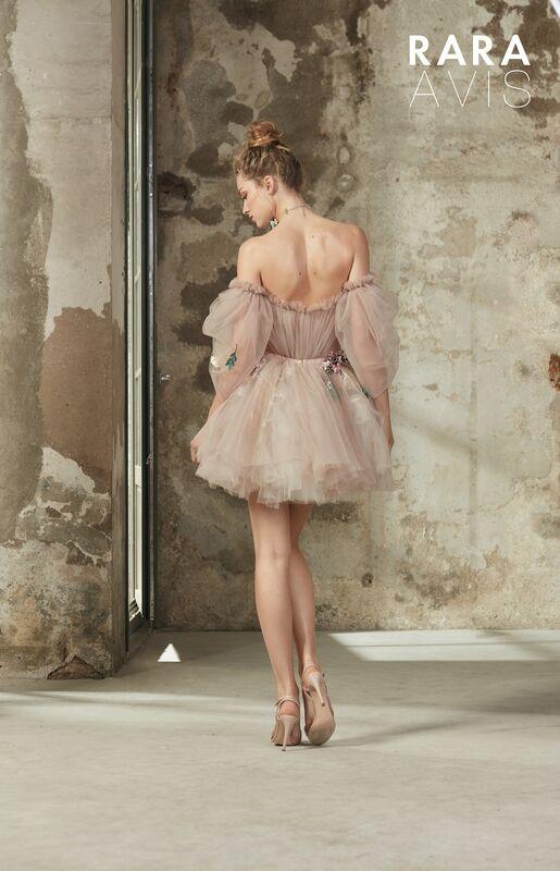 Свадебное платье напрокат Rara Avis Платье свадебное Floral Paradise  Levi - фото 3
