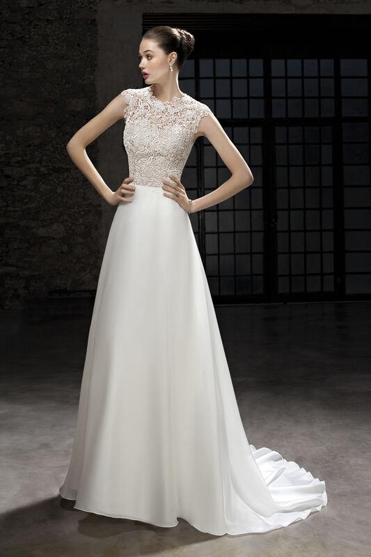 Свадебное платье напрокат Cosmobella Свадебное платье 7865 - фото 1