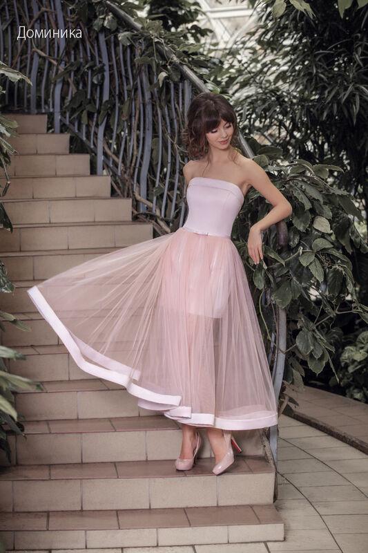 Свадебное платье напрокат Vintage Платье свадебное «Доминика» - фото 1