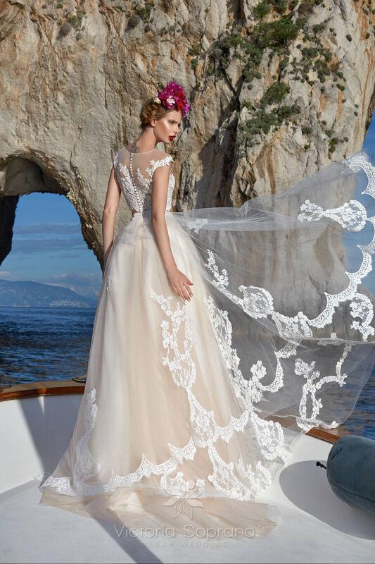 Свадебное платье напрокат City Bride Свадебное платье VS13518 - фото 4