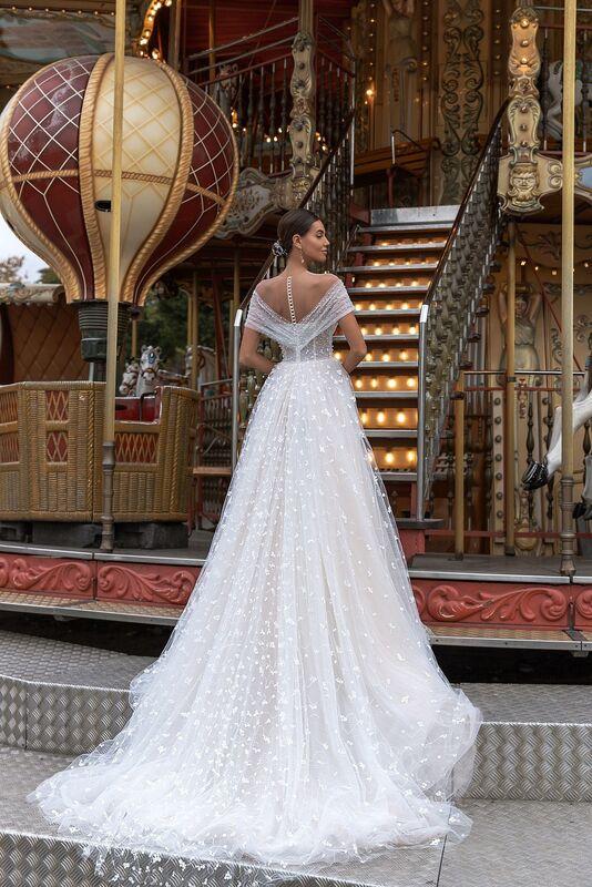 "Свадебный салон ALIZA свадебное платье ""Channye"" - фото 3"