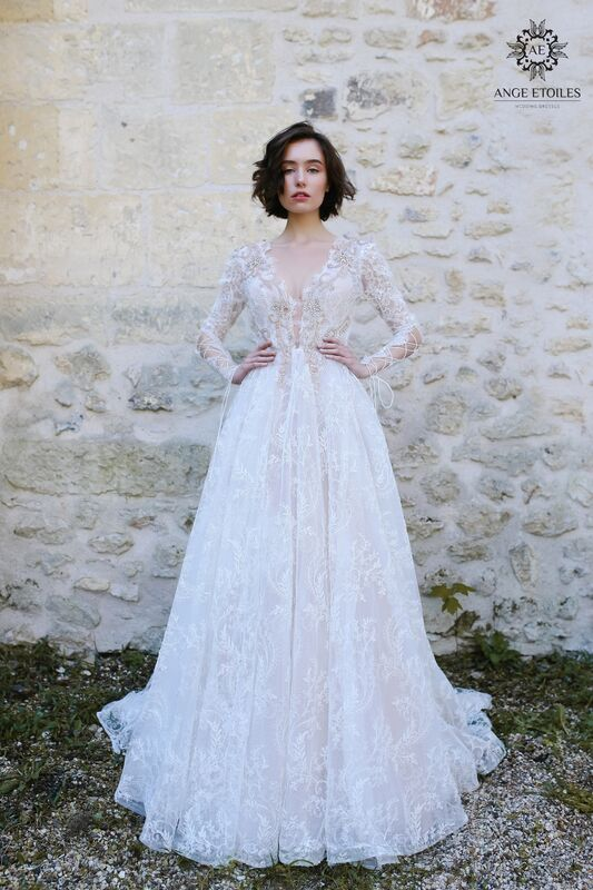 Свадебный салон Ange Etoiles Свадебное платье AEriality Collection  Olivia - фото 1