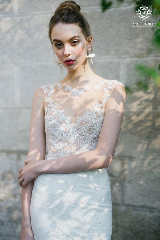 Свадебный салон Ange Etoiles Свадебное платье AEriality Collection Aurora - фото 3
