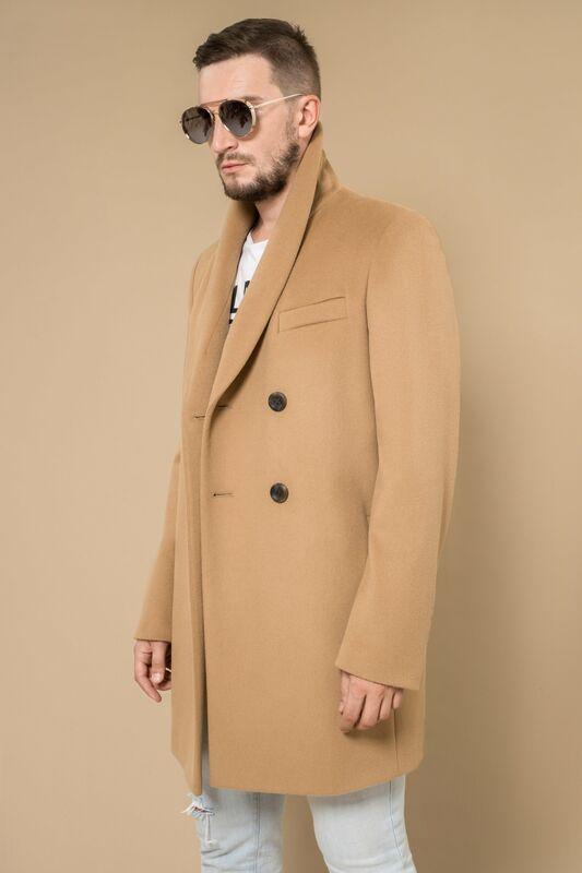 Верхняя одежда мужская Etelier Пальто мужское демисезонное 1М-8607-1 - фото 1