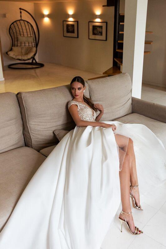 """Свадебный салон ALIZA свадебное платье """"Nemeziddye"""" - фото 5"""
