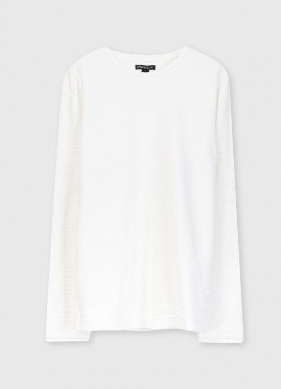 Кофта, рубашка, футболка мужская O'STIN Джемпер из текстурированного полотна MT5X36-01 - фото 5