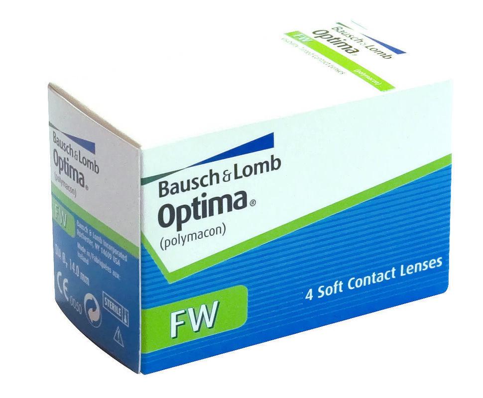 Линзы Bausch & Lomb Контактные линзы Optima FW - фото 1