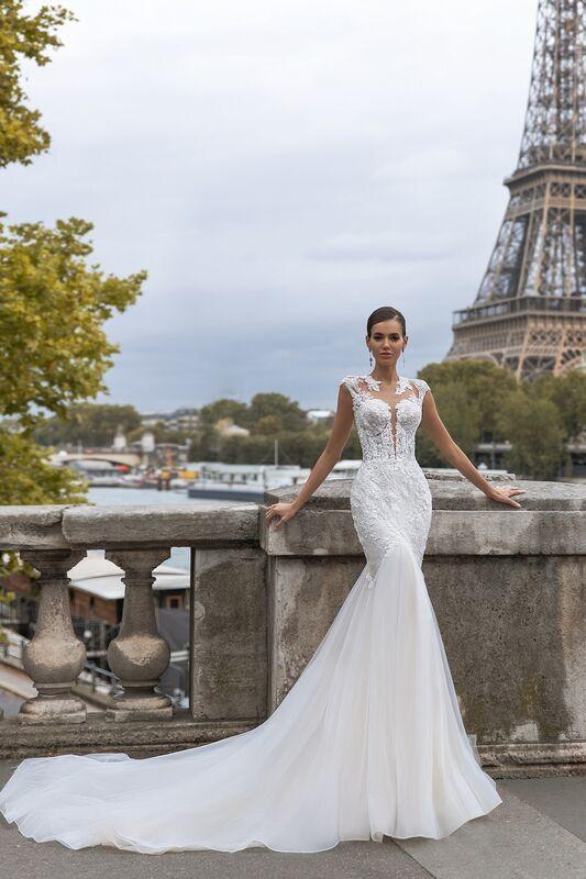 """Свадебное платье напрокат ALIZA свадебное платье """"Brigity"""" - фото 1"""
