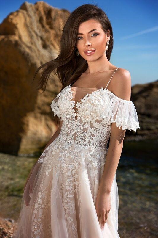 Свадебное платье напрокат Ida Torez Codakia Tigerina - фото 2