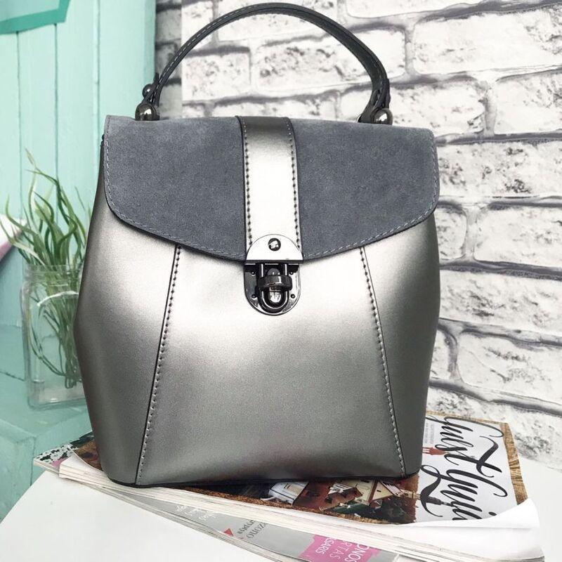 b59d549d1a18 Купить Кожаный рюкзак С00235 Vezze в Минске – цены продавцов