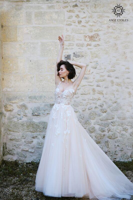 Свадебное платье напрокат Ange Etoiles Платье свадебное AEriality Collection  Lilian - фото 2