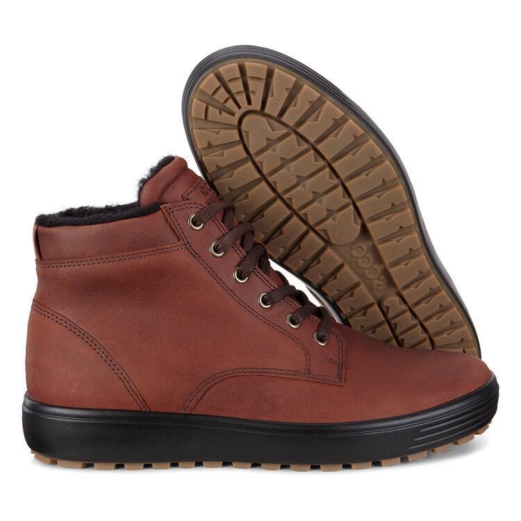 Обувь мужская ECCO Кеды высокие SOFT 7 TRED 450194/01053 - фото 8