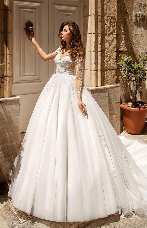 Свадебный салон Vanilla room Свадебное платье Менди - фото 3