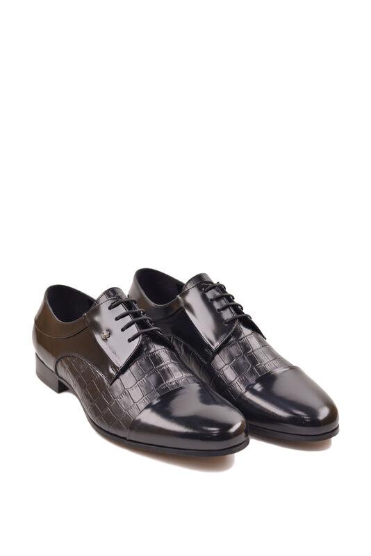 Обувь мужская HISTORIA Туфли дерби черные глянец Sh.B.73127 - фото 1