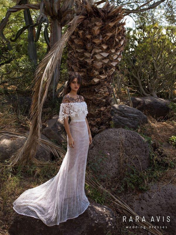 Свадебный салон Rara Avis Платье свадебное Wild Soul Hoype - фото 2