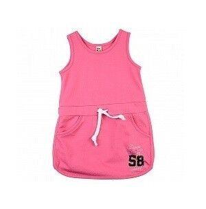 Платье детское Mini Maxi Сарафан малиновый для девочки UD0325 - фото 1