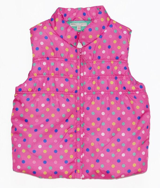 Верхняя одежда детская Marks&Spencer Жилет детский Д4835 - фото 1