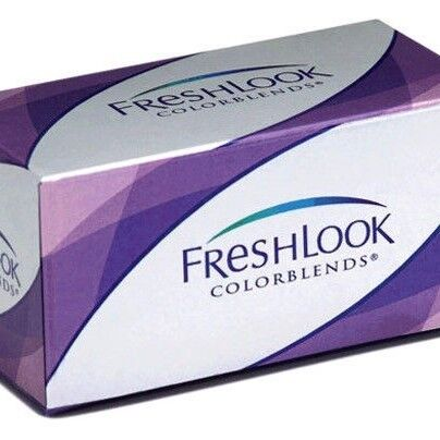 Линзы CIBA Vision Контактные линзы Freshlook Colorblends  (Brilliant Blue) - фото 1