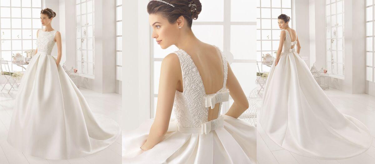 Свадебное платье напрокат Rosa Clara Платье свадебное Arcilla - фото 2