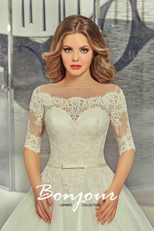 Свадебный салон Bonjour Свадебное платье «Iren» из коллекции LAMBRE 2017 - фото 3