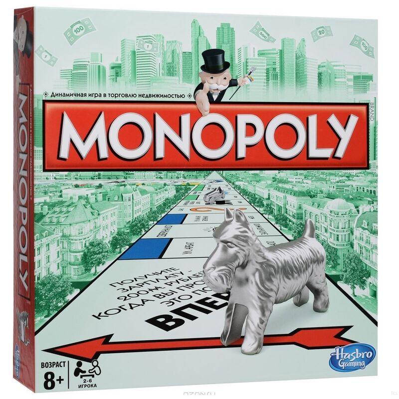Магазин настольных игр Hasbro Настольная игра «Монополия» - фото 1