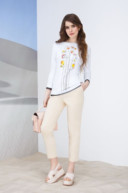 Кофта, блузка, футболка женская Elema Блузка женская Т-7372 - фото 1