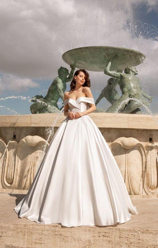 Свадебное платье напрокат Vanilla room Платье свадебное Джудит - фото 3