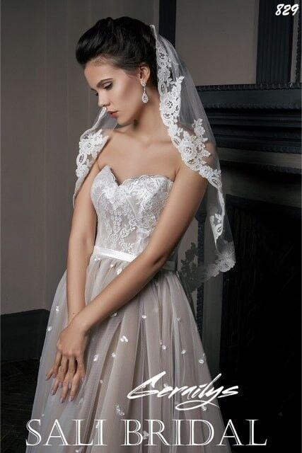 Свадебный салон Sali Bridal Свадебное платье 829 - фото 2