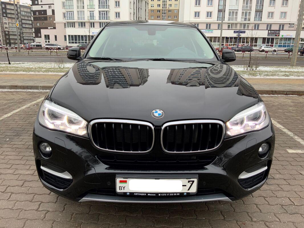 Прокат авто BMW X6 2016 г.в. - фото 1