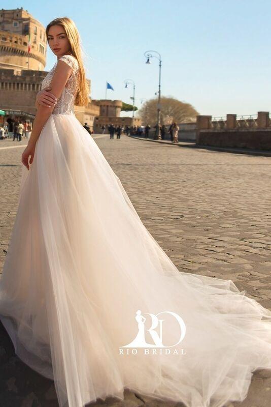 Свадебное платье напрокат Rafineza Свадебное платье Milena напрокат - фото 5