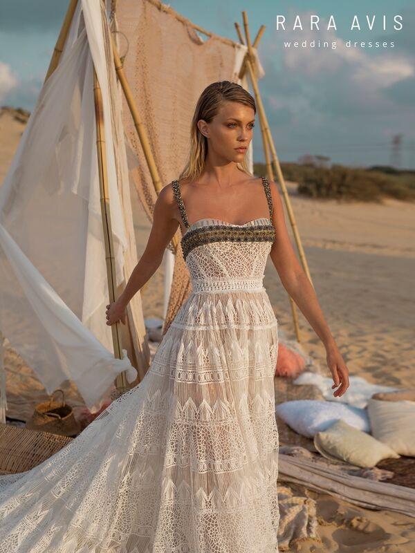 Свадебный салон Rara Avis Платье свадебное Wild Soul Mina - фото 2