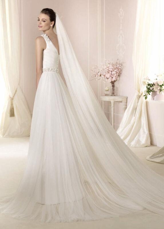 Свадебное платье напрокат White One (Pronovias) Платье свадебное «Dalina» - фото 2