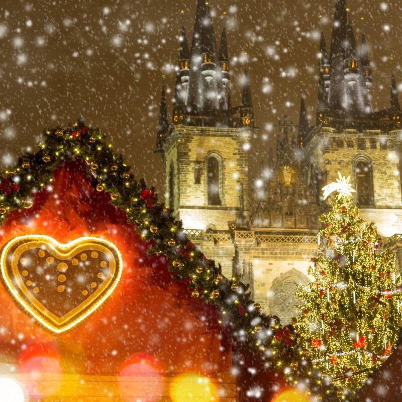 Туристическое агентство Внешинтурист Автобусный тур D6 «Новый год в Вене + Прага» - фото 1