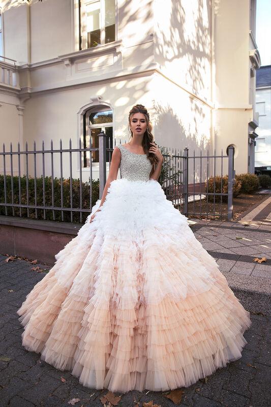 Свадебное платье напрокат Vanilla room Платье свадебное Луна - фото 5