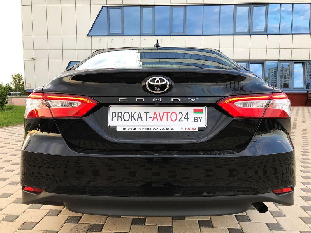 Прокат авто Toyota Camry 2019 г.в. черная - фото 4