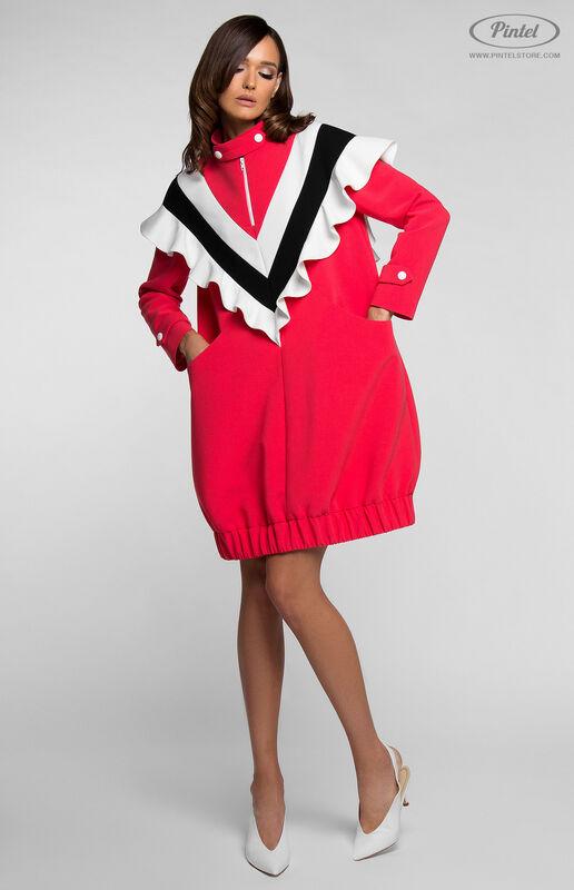 Платье женское Pintel™ Платье-свитшот в романтическом стиле FELISHA - фото 5