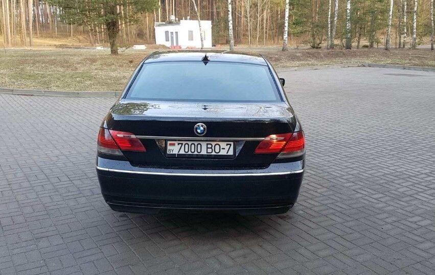 Прокат авто BMW 730i - фото 3