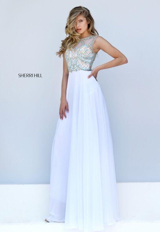 Свадебное платье напрокат Sherri Hill Платье свадебное 50160 - фото 4