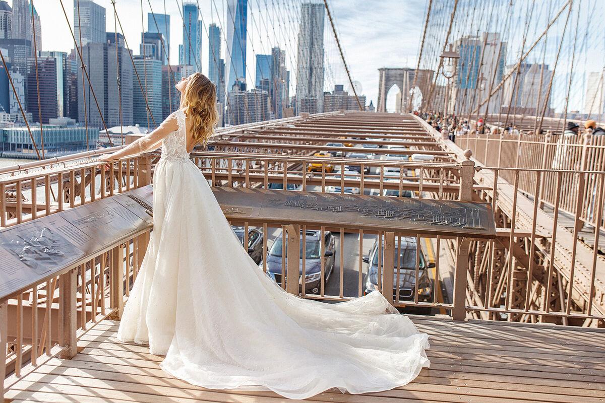 Свадебное платье напрокат Eva Lendel Tiana - фото 3