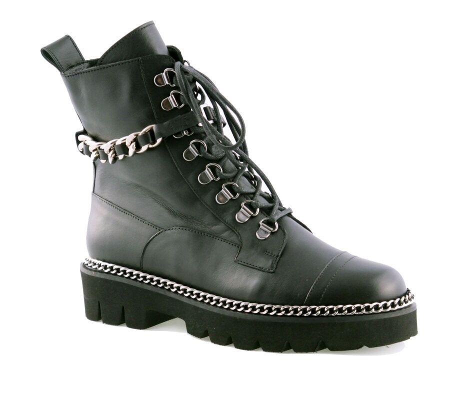Обувь женская Tuchino Ботинки женские 889 черные - фото 1