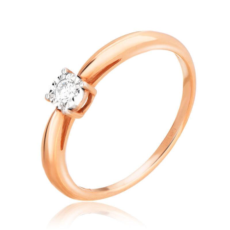 Ювелирный салон Jeweller Karat Кольцо золотое с бриллиантами арт. 3212911/9 - фото 1