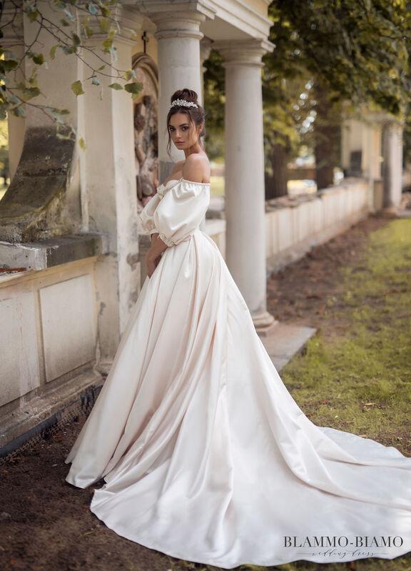 Свадебное платье напрокат Blammo-Biamo Платье свадебное The Rice Medea - фото 4