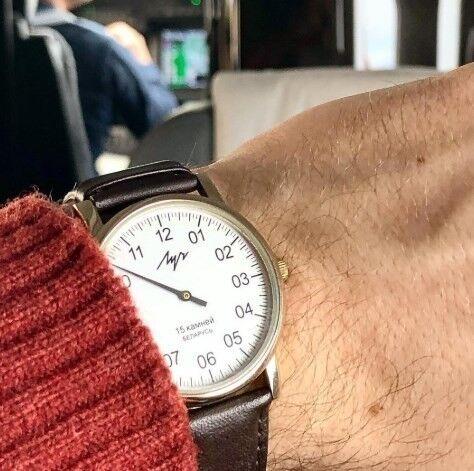 Часы Луч Наручные часы «Однострелочник»  337477760 - фото 2